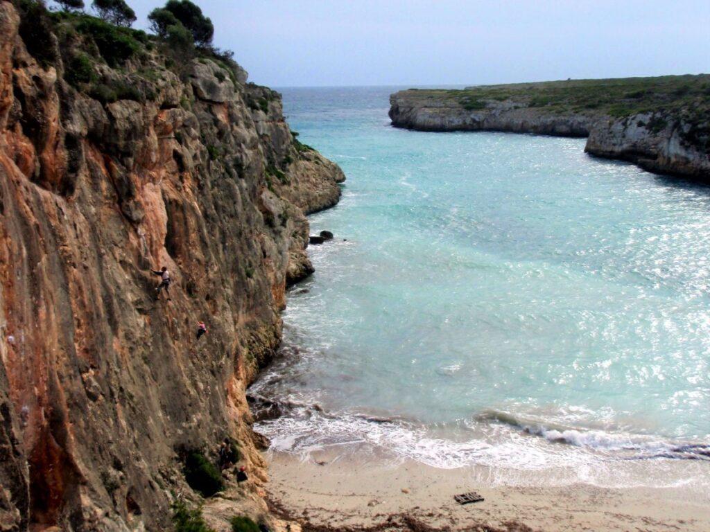 Mallorca Klettern Spanien Cala Magraner