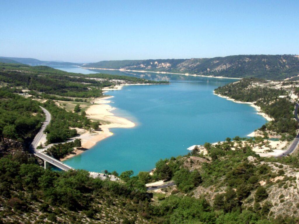 Frankreich Aiguines Lac St Croix