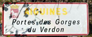 Frankreich Aiguines Verdon