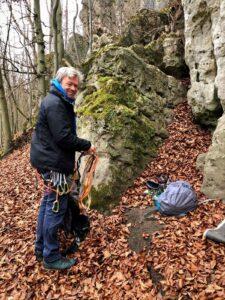 Deutschland Dögerode Klettern Achim Brixendorf