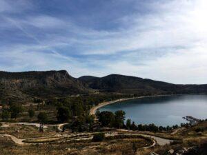 Griechenland Argolis Nafplio Klettern Blick von Anatoli