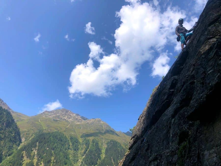 Read more about the article Klettern im Kaunertal – der kleine, feine Klettergarten Keilschrofen